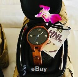 Women's KOA Wood Watch, PONO Woodworks, Original from Hawaii, Brand NEW